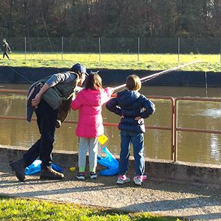 Gara di pesca Lago Verde Lazzate