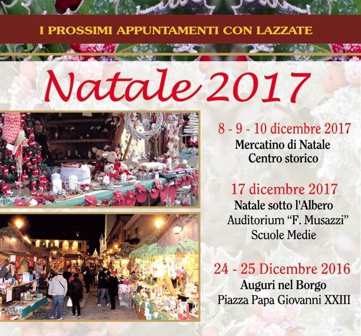 Mercatini di Natale Lazzate 2017